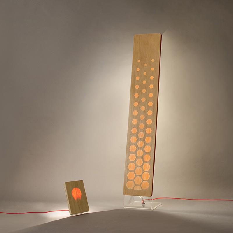 lampada personalizzata design roma
