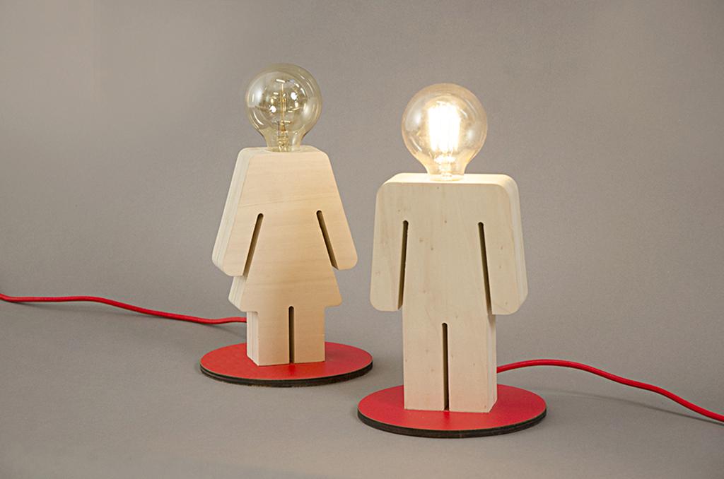 lampada design personalizzata