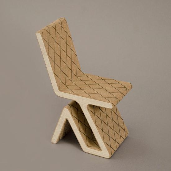 Prototipo seduta in legno