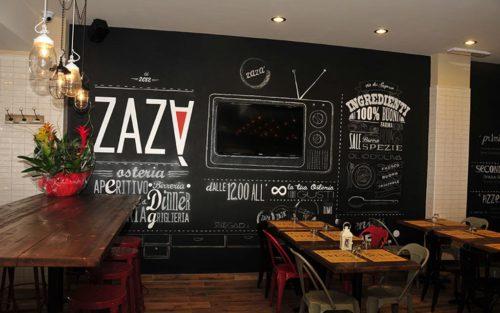arredo grafico ristorante